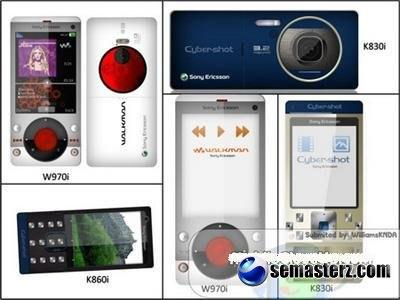 Sony Ericsson W970, K830 и K860