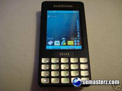 Sony Ericsson M610i выставлен на немецком EBAY