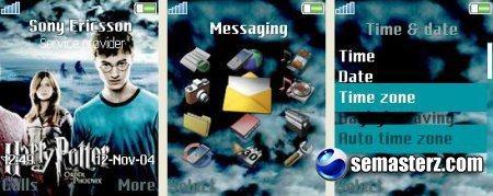 Harry and Ginny - Тема для телефонов Sony Ericsson[176x220]
