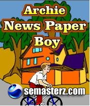 ARCHIE NEWS PAPER BOY