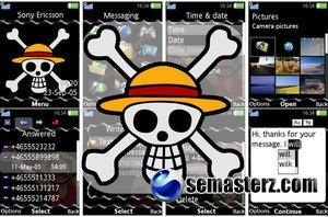 One Piece - темa для Sony Ericsson [320x240]