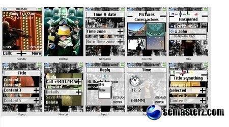 G.T.A_4 - Тема для Sony Ericsson (176x220)