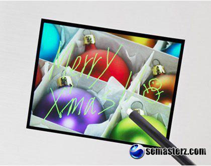 Sony продемонстрировала сенсорный дисплей нового поколения