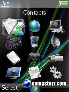 6 menu for Sony Ericsson K790, K800, K810