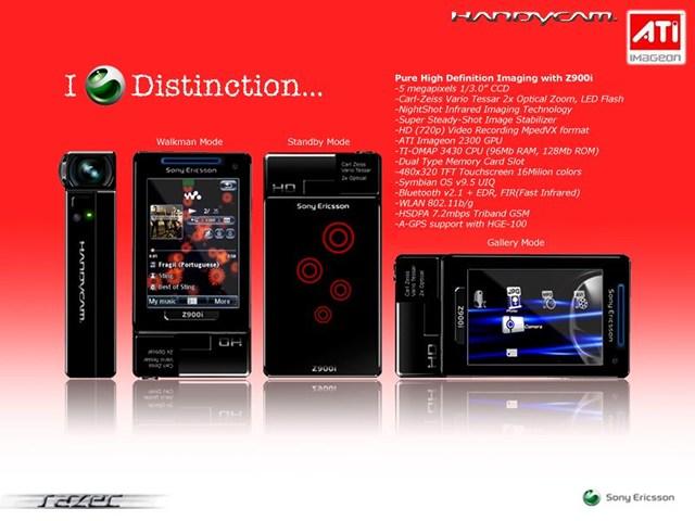 Концепт Sony Ericsson Z900i