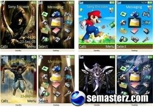 Подборка игровых тем для SonyEricsson (240x320) №7
