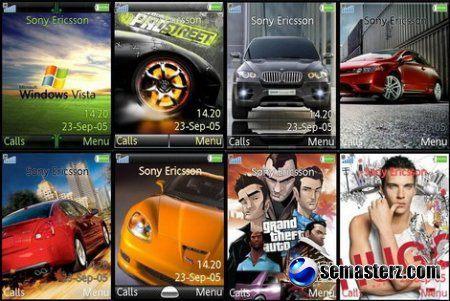 Темы для Sony Ericsson 240x320