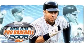 Derek Jeter Pro Baseball 2008