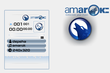 Amarok skin for walkman 2.0 for 240x320