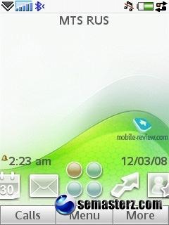 Обзор GSM/UMTS-смартфона Sony Ericsson G700