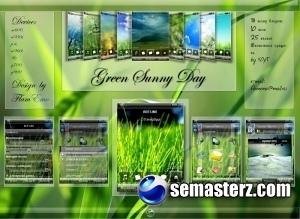 Green Sunny Day - тема для UIQ3