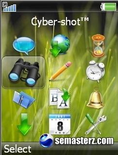 Vista Icons - меню 240x320