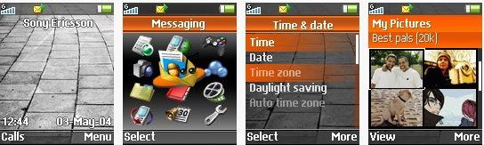 Gorange - Тема для Sony Ericsson [128x160]