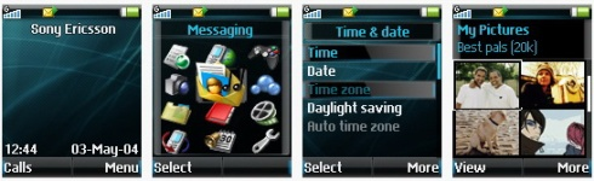 EXUS OSm Ultima Sapphire - Mini Pack for Sony Ericsson [128x160]