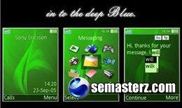OverTheGrasSeas - Тема для Sony Ericsson [240x320]