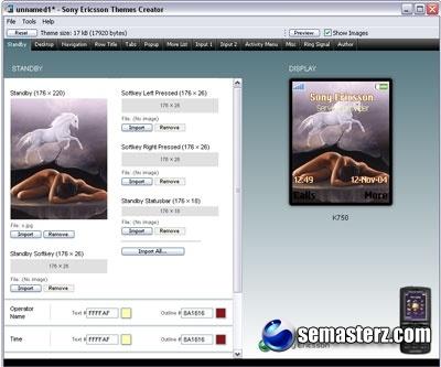 Sony Ericsson Themes Creator v3.29