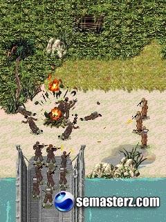 Call Of Duty V: World At War - Java игра для Sony Ericsson