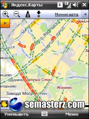 Мобильные Яндекс.Карты - Java приложение для Sony Ericsson