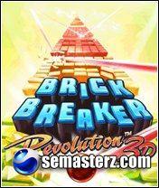Brick Breaker Deluxe 3D - Java игра для Sony Ericsson