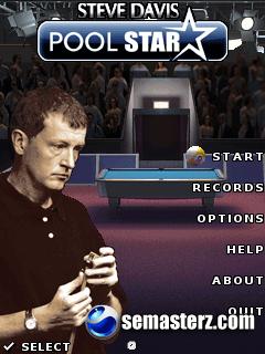Steve Davis Pool - Java игра для Sony Ericsson