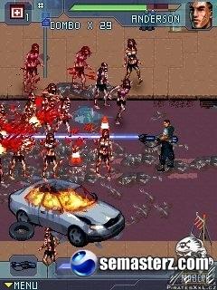Zombie Infection - Java игра для Sony Ericsson