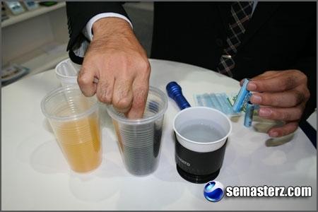 Аккумуляторы, работающие на разных жидкостях, в т.ч. на... моче
