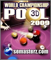 World Championship Pool 09 3D - Java игра для Sony Ericsson