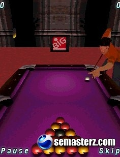 World Championship Pool 09 3D - Java игра для Sony Ericsson