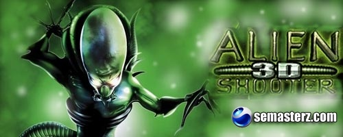 Alien Shooter 3D - Java игра для Sony Ericsson