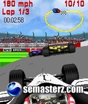 American Racing - Java игра для Sony Ericsson