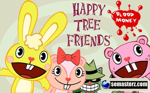 Happy Tree Friends: Blood Money - Java игра для Sony Ericsson