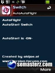 AutoFlight 2.0-программа для Sony Ericsson [UIQ 3]