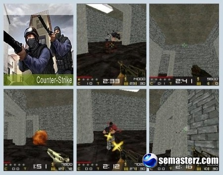 Micro Counter Strike - Best Graphic Edition (Java)- игра для UIQ 3