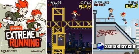 Playman Extreme Running - игра для Sony Ericsson [UIQ 3]