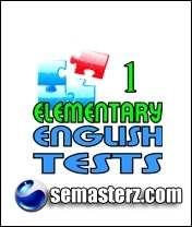 Elementary English Tests v.1.0 - Приложение для Sony Ericsson