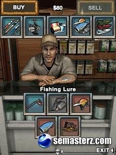 Bass Fishing mania 2 - Java игра для Sony Ericsson