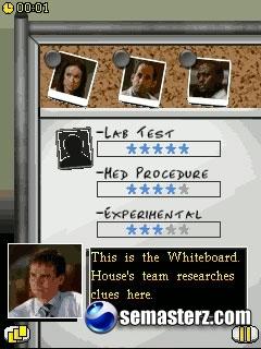 House M.D. - Java игра для Sony Ericsson