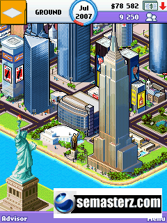 Megacity Empire: New York - Java игра для Sony Ericsson