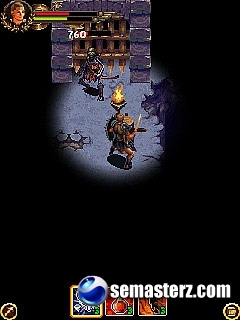 Clash Of The Titans: The Movie - Java игра для Sony Ericsson