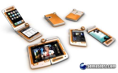 Концепт телефона-трансформера Sony Ericsson Walkman FH