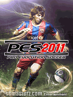 Pro Evolution Soccer 2011 - Java игра для Sony Ericsson