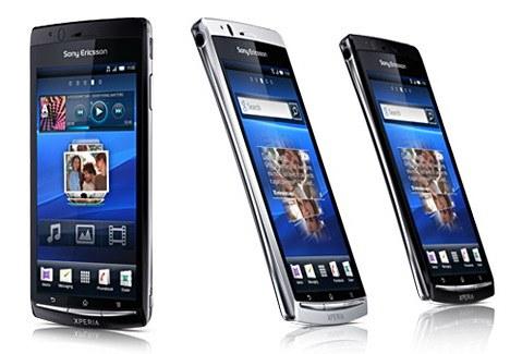 Первое знакомство (Обзор) Sony Ericsson XPERIA arc