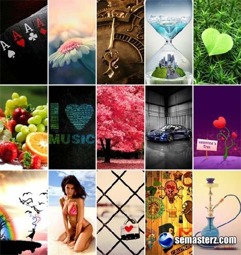 Mobile Wallpapers 320x640 - Pack 19