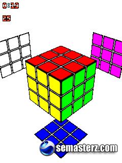 Кубик Рубика 3D (Rubik's Cube 3D) - Java игра