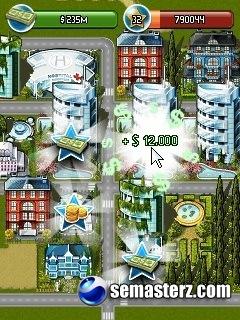 Город Миллионеров (Millionaire City) - Java игра для SE