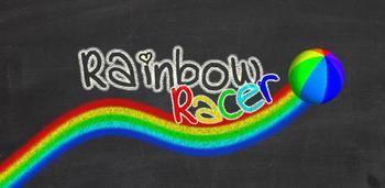Rainbow Racer - красочная аркада для Android