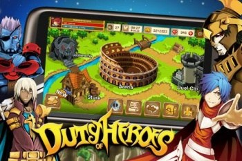 Duty of Heroes - интересная RPG для Android