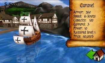 Age of Wind 2 - управляйте своим кораблём c Android