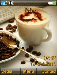 Coffee - Тема для SE 240x320