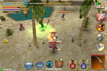 Pocket Legends - великолепная MMORPG для Android